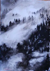 Gabriele Tadini – Foschia sul bosco
