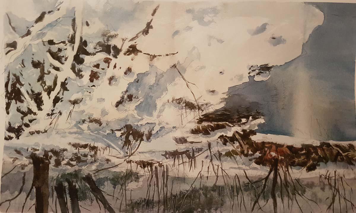 Gabriele Tadini – Nevicata