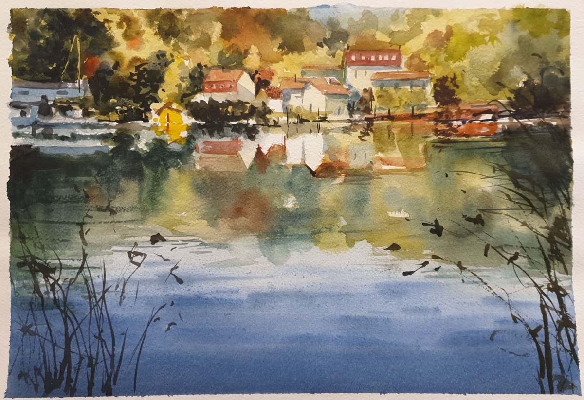 Gabriele Tadini – Sul lago