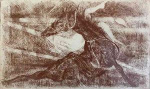 Vittorio Fava – Caduta da cavallo