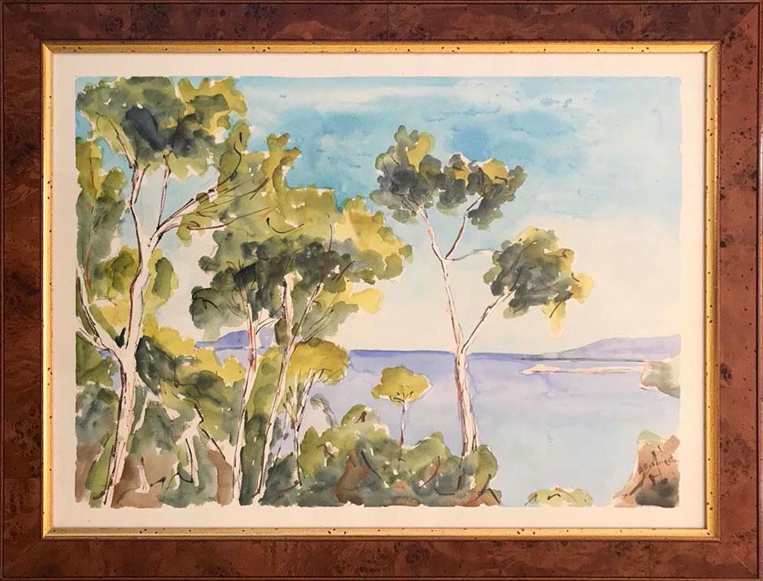 Franco Bracciante – Paesaggio marino