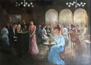 Gian Marcello Ghezzi – Al caffè