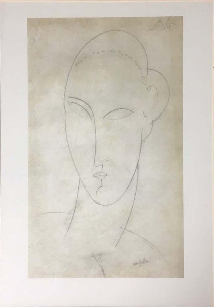 Modigliani – Senza titolo