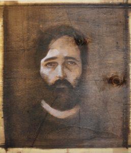 Emilio Facchini – Autoritratto in nero