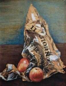 Franca Carra – Il giornale e le mele