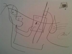 Edizioni Seat – L'artista al lavoro – Joan Mirò