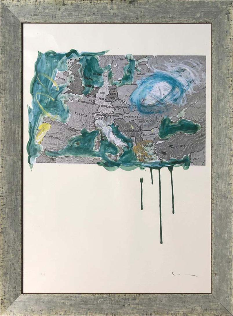 Mario Schifano – Europa