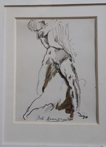 Pietro Annigoni – Uomo nudo