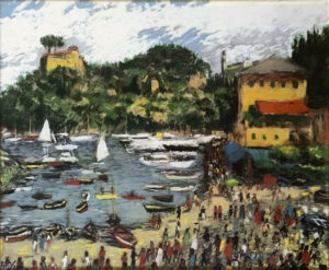 Michele Cascella – Incontrarsi a Portofino