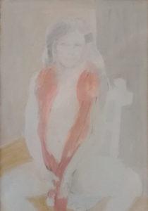 Ugo Attardi – La donna col boa di struzzo