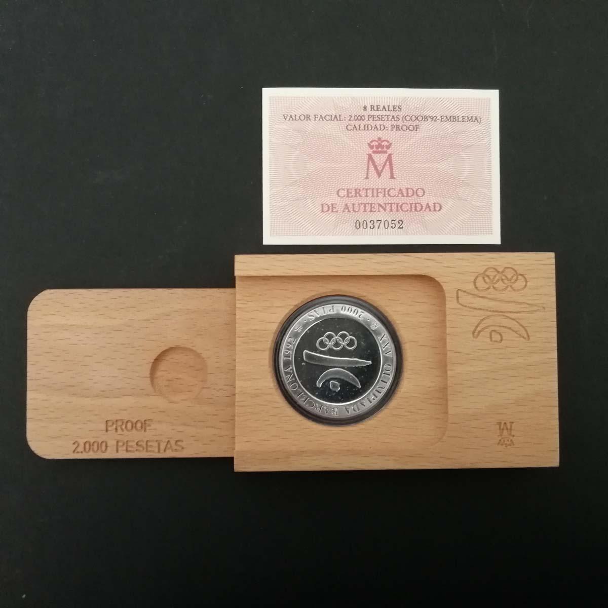 Moneta commemorativa olimpiadi di Barcellona 1992