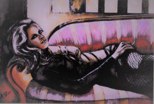 Anna Sticco – Sul sofa