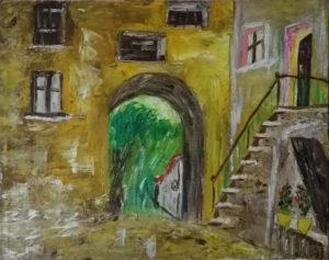 Artista sconosciuto – Il portico