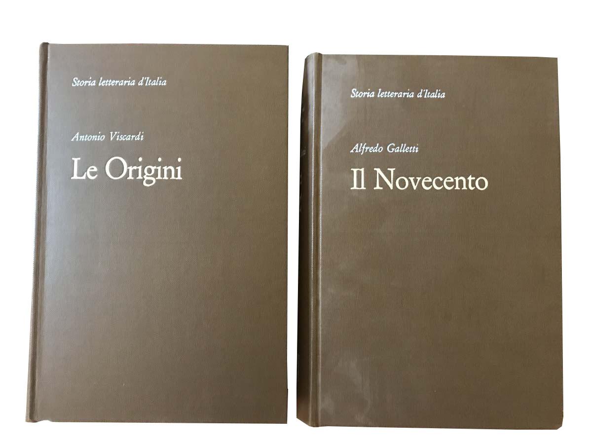 Storia Letteraria d'Italia – Francesco Vallardi Editore