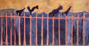 Ken Tielkemeier – Corvi sul recinto