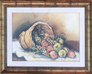 Adele Navarino – Cesto di frutta
