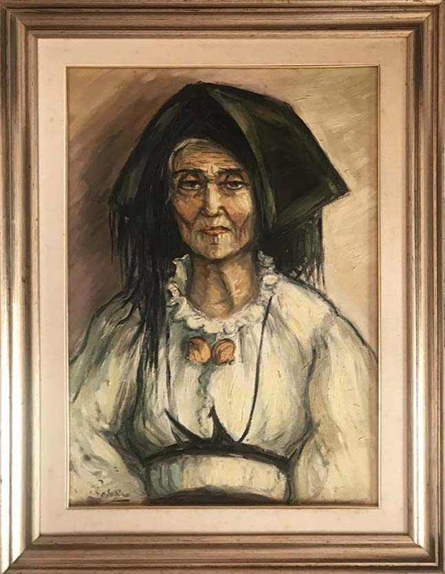 Adele Navarino – Donna in costume sardo