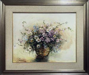 Adele Navarino – Cesto con fiori