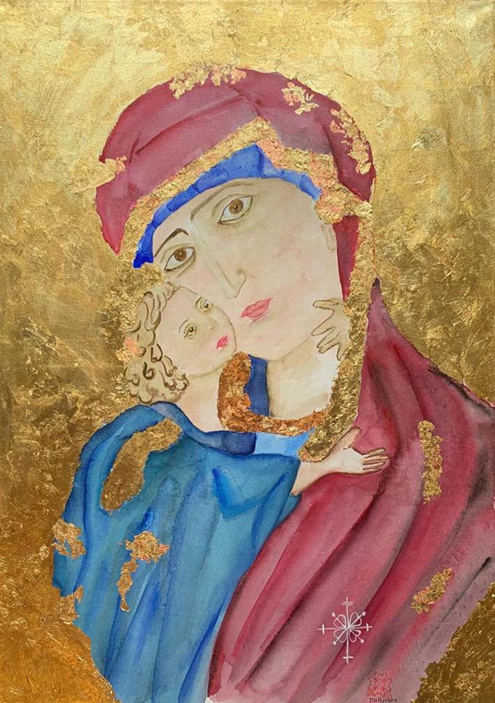 Maria Novella Perrone – Madonna con Bambino