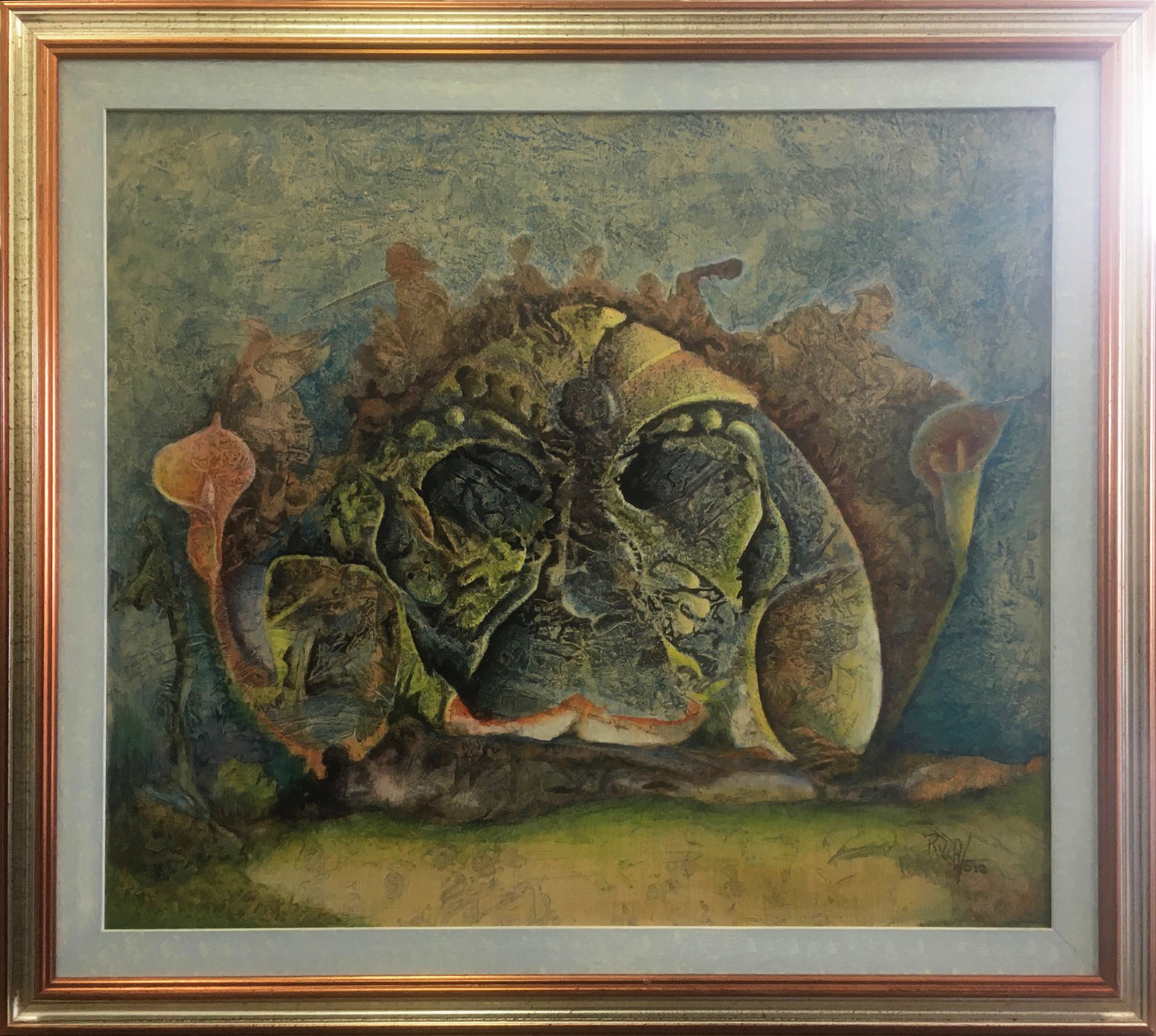 Vincenzo Rizza – Maschera floreale