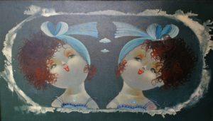 Nicola Vietti – Bambine allo specchio