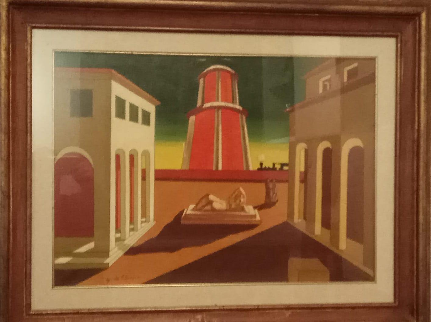 Giorgio De Chirico – Piazza d'Italia