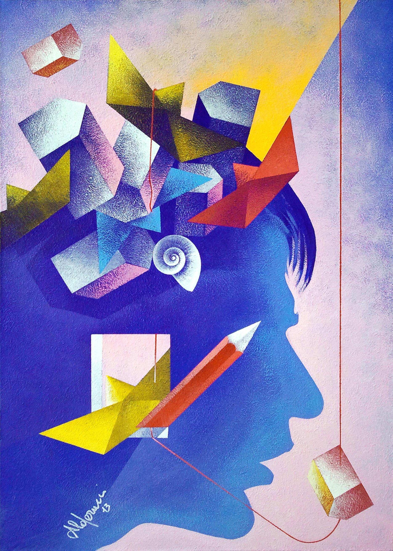 Corrado Alderucci – Pensieri ora pigri ora affannati si susseguono nella mente