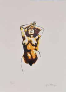 Renato Guttuso – Nudo di donna