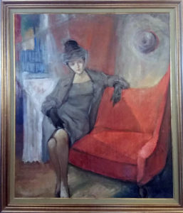 Leon Giuseppe Buono – Figura femminile in posa