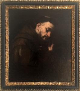 Luca Giordano – San francesco in preghiera