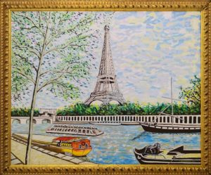 Leonardo Albanese – Paris tour Eiffel  e bateaux moches