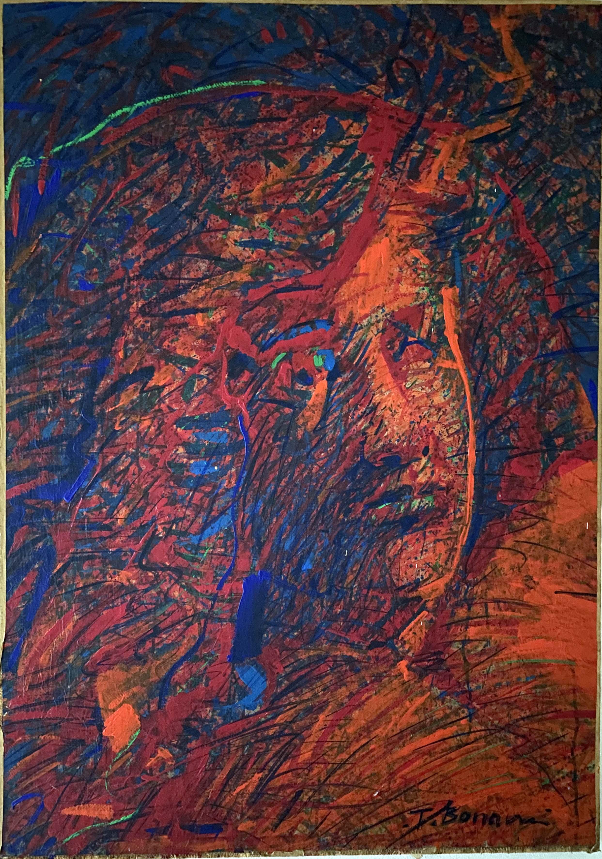 Tiziano Bonanni –  Ritratto Rosso
