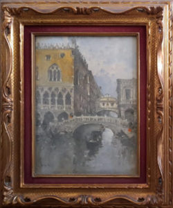 Giuseppe Riva – Venezia palazzo ducale