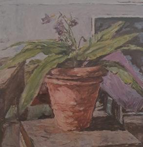 Enzo Faraoni – Pianta con fiore viola