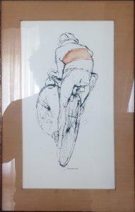 Renzo Vespignani- Ciclista