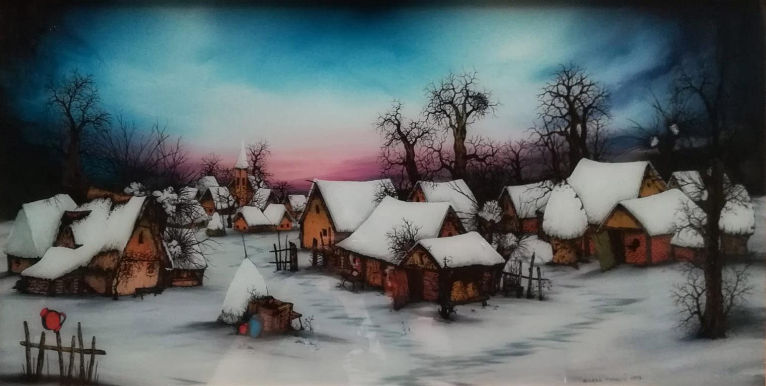 Zoran Tokovic – Paesaggio d'inverno