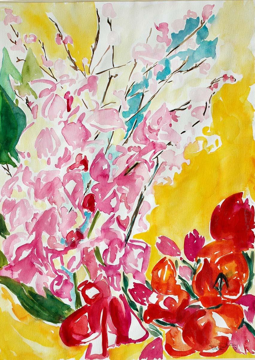 Mara Corfini – Mazzo di fiori