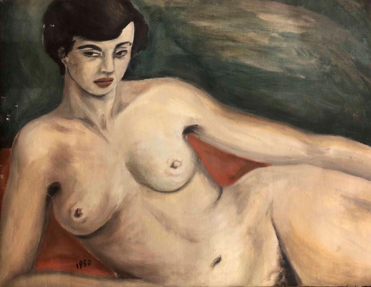 Franca Barbara Frittelli – Nudo di ragazza fiorentina