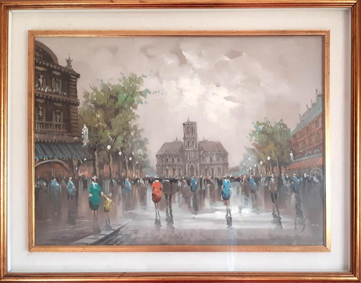 Antonio De Vity – Particolari di Parigi