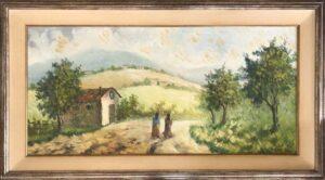Gino Guidi – Paesaggio con zingare