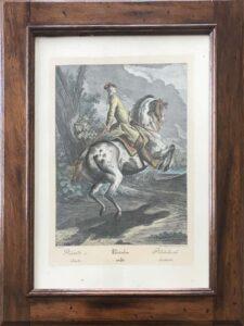 Da Johan Elias Ridinger – Scuola di equitazione