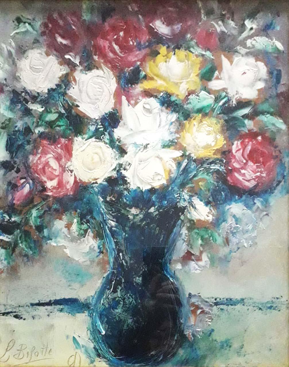Luigi Bisotti – Vaso con fiori