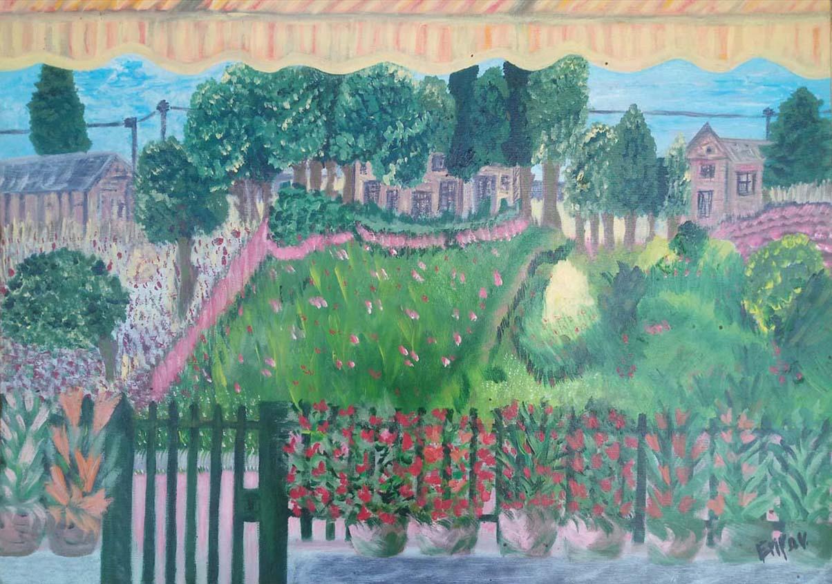 Emy De Virgilio – Vista da casa