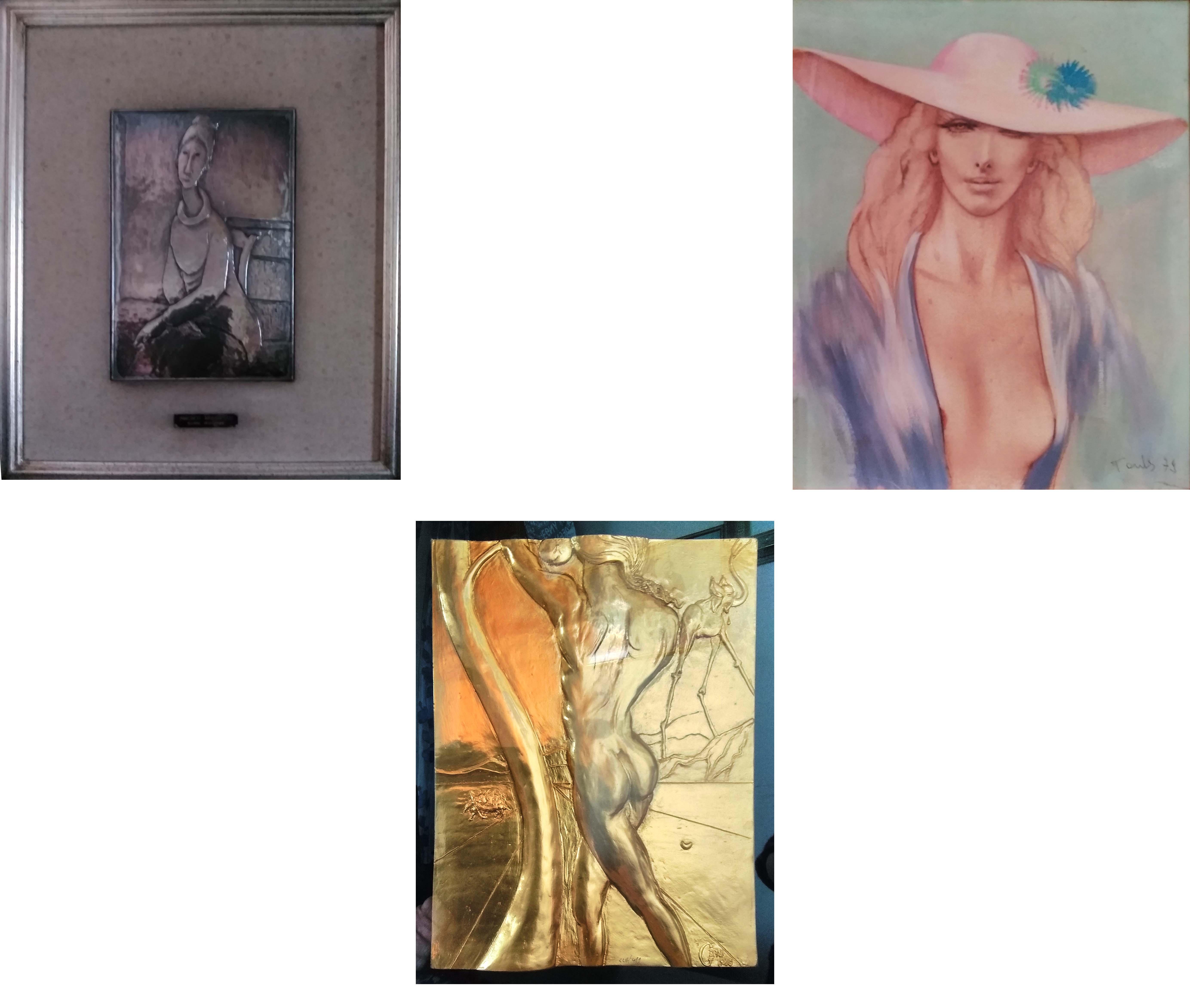 Trittico – Tauber, Dalí e Modigliani