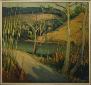 Giancarlo Amurri – Tramonto sul fiume Adda