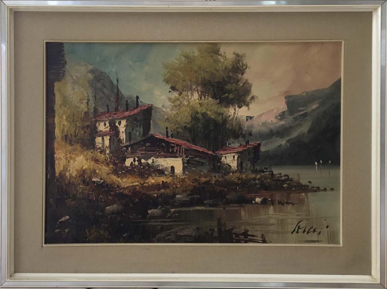 Aldo Fiore – Paesaggio invernale