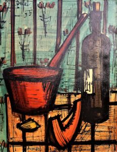 Bernard Buffet – Before dinner