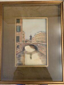 Gigi Arcangioli – Vecchia Milano, Ponte di Porta Romana