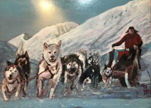 Luigi Bertoldi – Cani da slitta