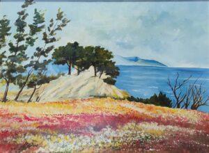 Giuseppe Marchese  – Paesaggio (Omaggio a Cascella)